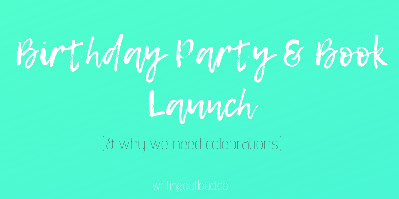 Birthday Party & Book Launch